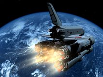 The space ship Royalty Free Stock Image