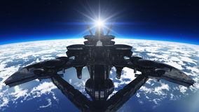 Space ship Royalty Free Stock Photos
