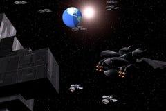 Space ship Royalty Free Stock Photos