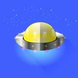 Space Ship Royalty Free Stock Images
