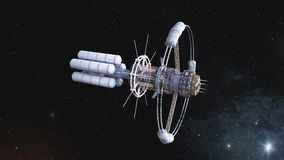 Space ship Royalty Free Stock Image