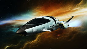 Space ship stock video footage