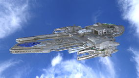 Space ship Stock Image