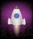 Space Ship for your decoration Royalty Free Stock Image