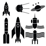 Space ships Royalty Free Stock Photography
