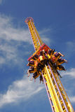 Space shot in funfair Royalty Free Stock Photo