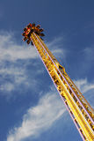 Space shot in funfair Stock Images