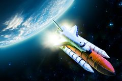 Space Shuttle Stock Image