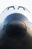 Space shuttle. In outdoor museum Stock Photos