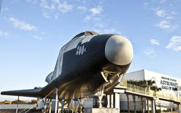 Space Shuttle at the Astronaut Hall of Fame Royalty Free Stock Photography