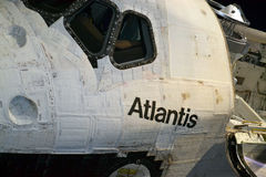 Space Shuttle Atlantis Stock Photography