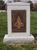 Space Shuttle Columbia Memorial Stock Photography