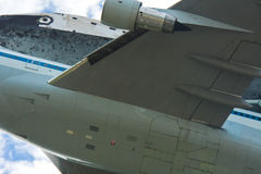 Space Shuttle Discovery Closeup Royalty Free Stock Image