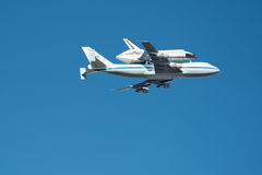 Space Shuttle Endeavour Stock Image