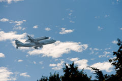 Space Shuttle Endeavour Royalty Free Stock Image