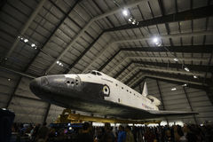 Space Shuttle Endeavour. On display at the CA Science Center Royalty Free Stock Images