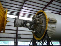 Space Shuttle Engine. In Houston Stock Photography