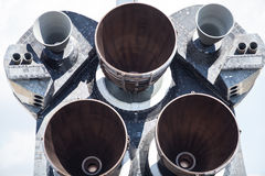 Space Shuttle Endeavour Engine Royalty Free Stock Image