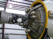 Space Shuttle Engine Part. Space Shuttle located in Houston Stock Images