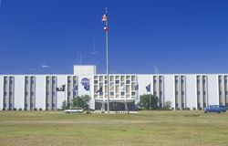 Space shuttle engine test site main building, Stennis Space Center, Hancock County, Mississippi Stock Photo
