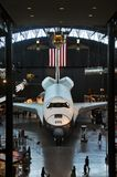 Space Shuttle Enterprise. At the National Air and Space Museum Steven F. Udvar-Hazy Center, James S. McDonnell Space Hangar, in Chantilly, Virginia, USA Royalty Free Stock Image