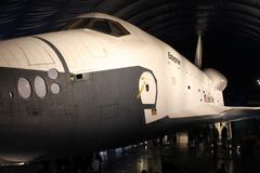Space shuttle Enterprise, Intrepid Museum. The Space Shuttle Enterprise on display at the Intrepid Museum in Manhattan, NYC Royalty Free Stock Photography