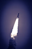 Space shuttle in flight Royalty Free Stock Photos