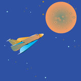 Space Shuttle Flight Royalty Free Stock Images