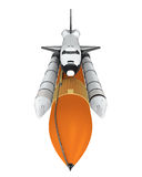 Space Shuttle Isolated Stock Image