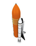 Space Shuttle Isolated Stock Images