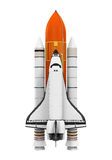 Space Shuttle Isolated Royalty Free Stock Photo