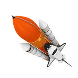 Space Shuttle Isolated Stock Photography