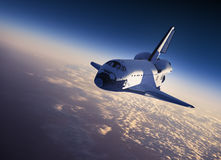 Space Shuttle Landing Stock Photos