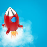 Space shuttle launch. Out of the box royalty free illustration