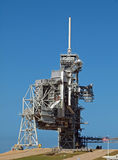Space Shuttle Launch Pad. The space shuttle launch pad, Cape Canaveral, Florida Royalty Free Stock Photography