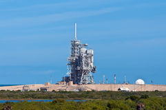 Space Shuttle launch platform Stock Photo