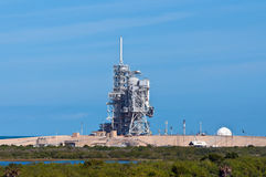 Space Shuttle launch platform Royalty Free Stock Photo