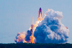 Space Shuttle launching Stock Images