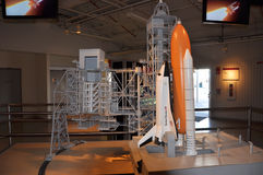 Space Shuttle Model Stock Image