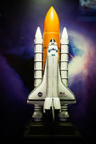 Space Shuttle Model Royalty Free Stock Photo