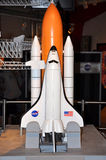 Space Shuttle Model Stock Photography