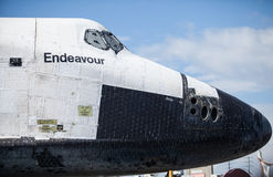 Space Shuttle Endeavour Nose Stock Photography