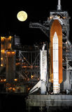 Space Shuttle On Launch Pad Royalty Free Stock Image