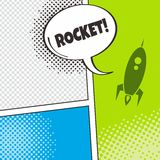 Space shuttle rocket Royalty Free Stock Photo