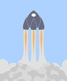 Space shuttle or rocket Royalty Free Stock Photography
