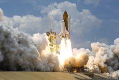 Space Shuttle Start and Take Off Royalty Free Stock Photos