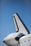 Space Shuttle Endeavour Tail. Closeup Stock Images