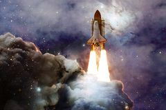 Free Space Shuttle Taking Off On A Mission Stock Photography - 143386502