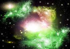 Space sky Royalty Free Stock Photography