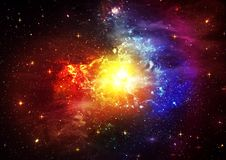 Space sky Royalty Free Stock Images